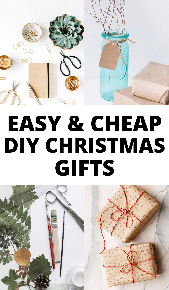 Looking for DIY Christmas gifts that you can easily make at home? These cheap homemade Christmas gift ideas are quick and so successful they won't know they are handmade! Gifts for all the family, click to find out more.