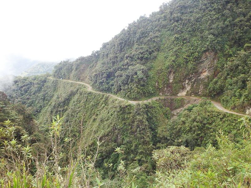 Death Road Bolivia Gravity