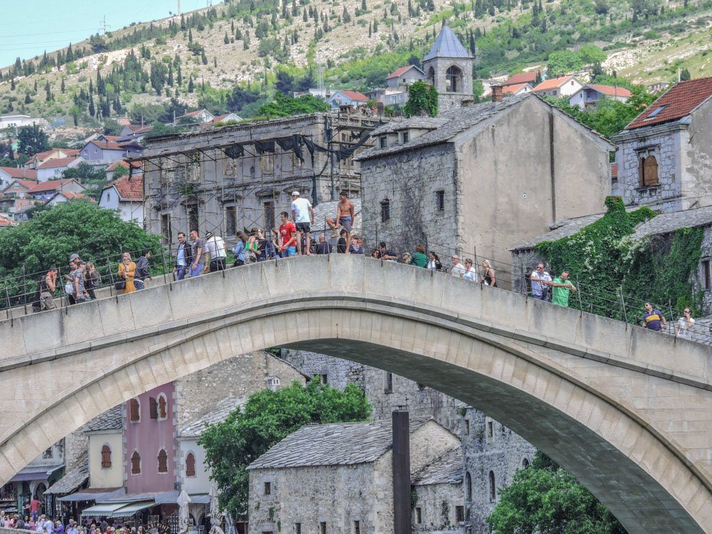 Diving Stari Most Mostar I Bosnia and Herzegovina_
