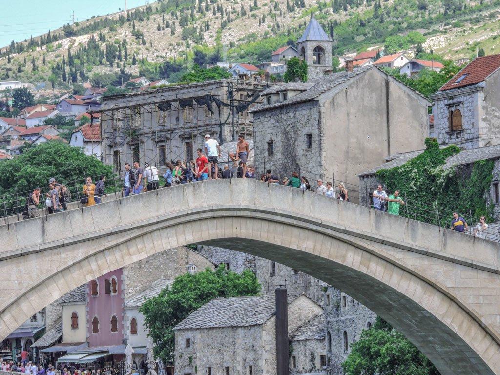 Diving Stari Most Mostar I Bosnia and Herzegovina_