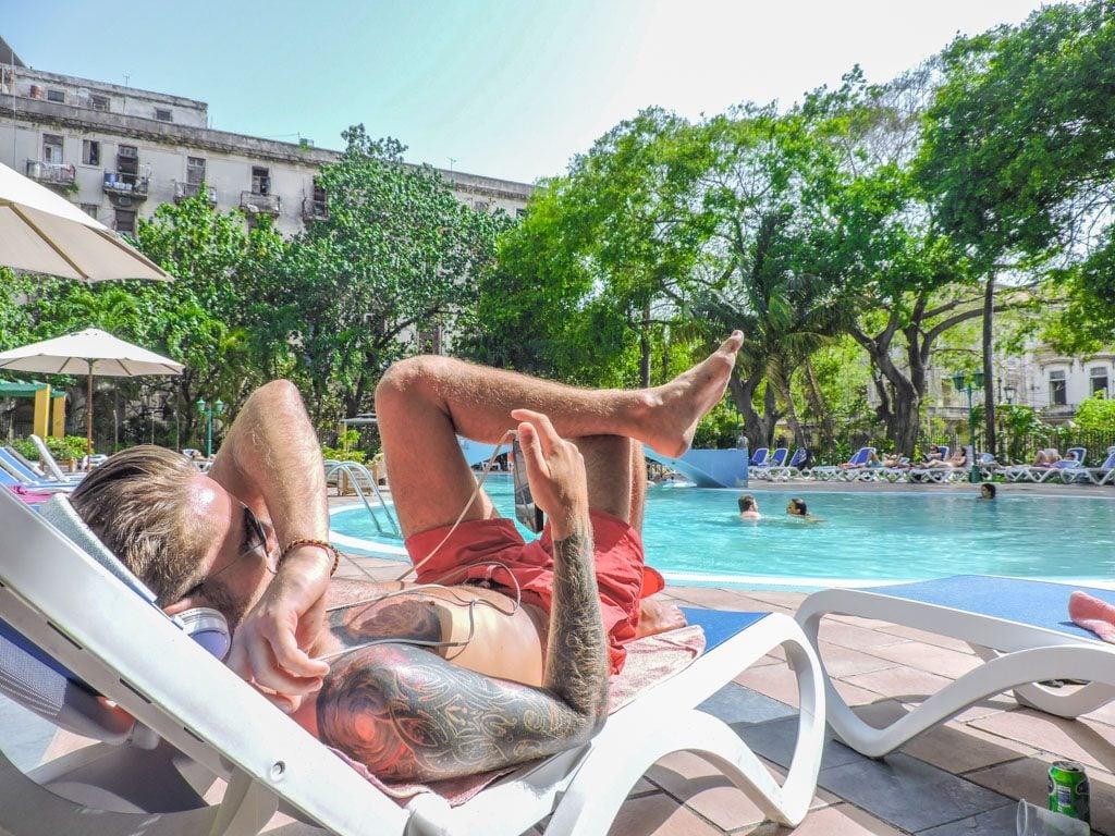 Hotel Sevilla Havana I Internet and WiFi in Cuba