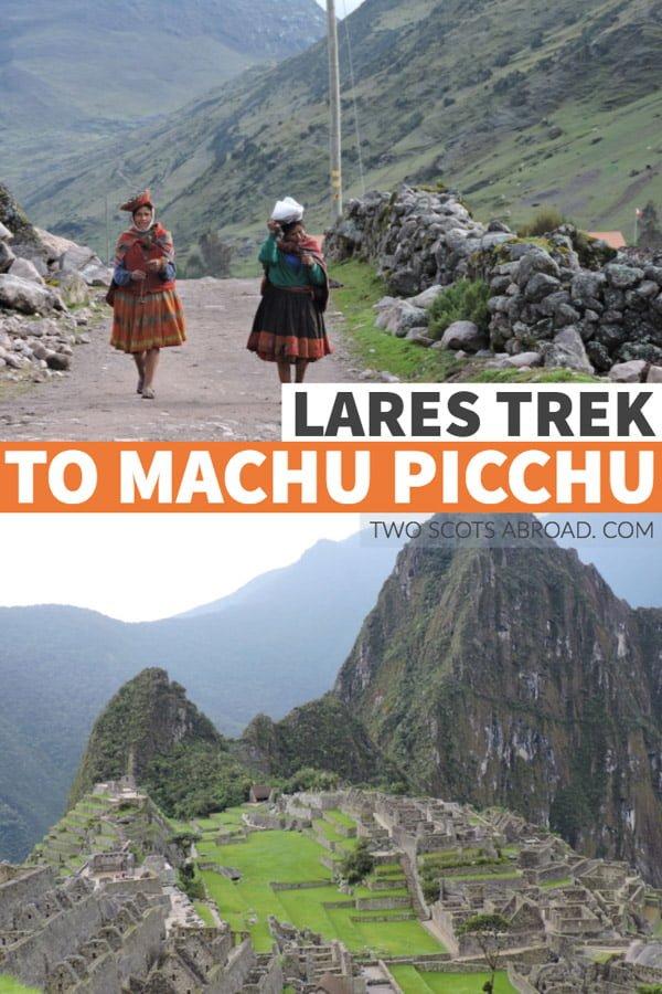 Lares Trek to Machu Picchu Peru