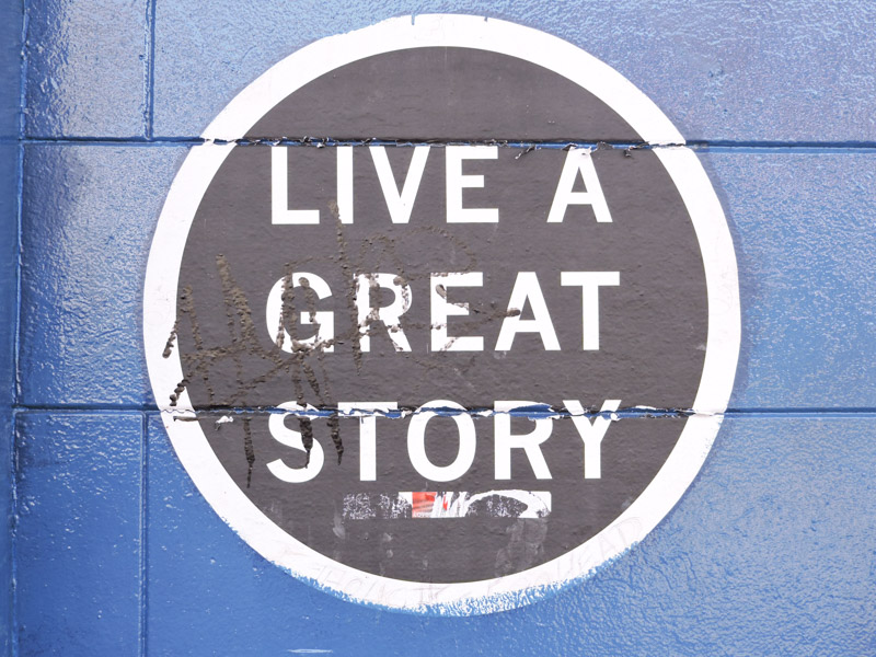 Live a Great Story Art New Orleans_