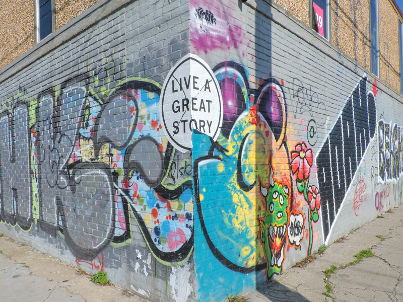 Live a Great Story Street Art New Orleans_