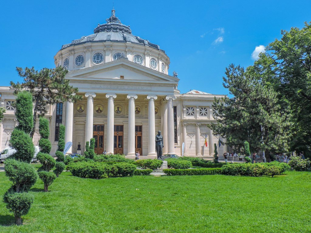Romanian Athenaeum I Bucharest I Photo the Fortnight 29 I Eastern Europe