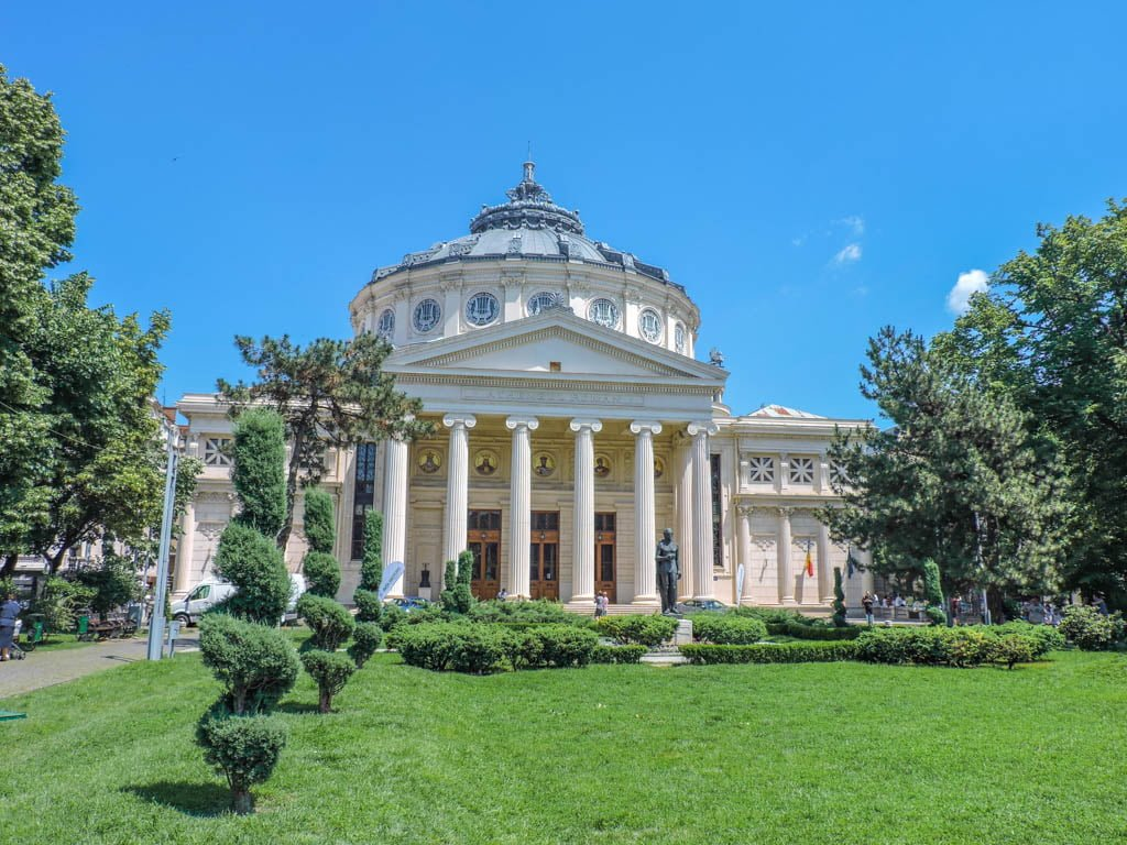 Romanian Athenaeum I Things To Do In Bucharest