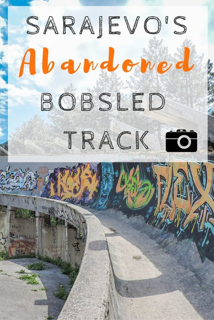 Sarajevo Bobsled Track - an abandoned hangover from the 1984 Winter Olympics. How to get there by foot, bus, taxi, and tour.