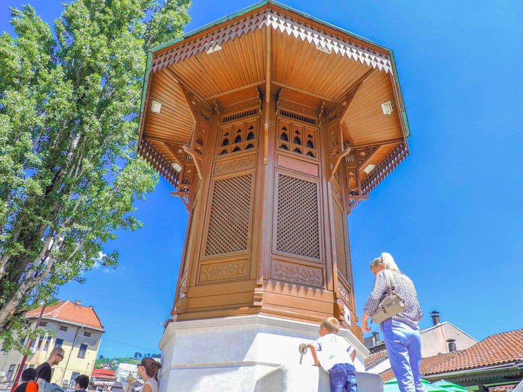 Sarajevo Old Town Fountain I Sarajevo Where To Stay and What To Do