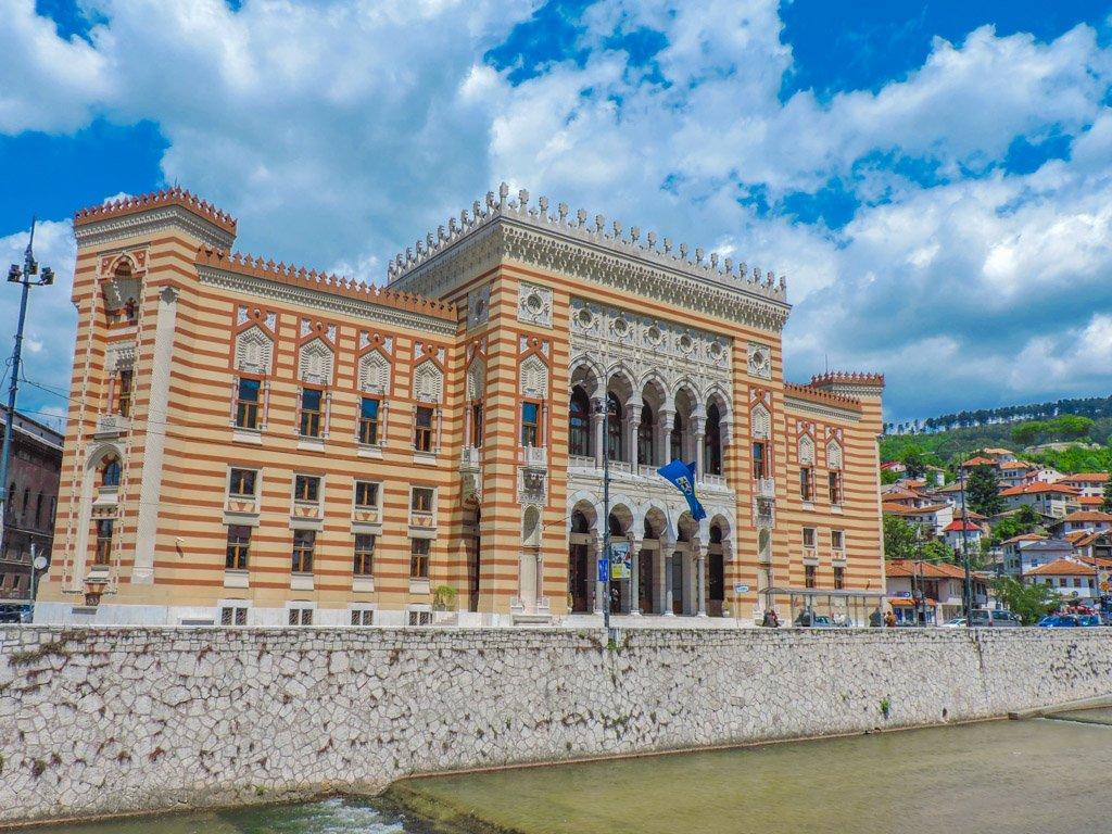 Sarajevo City Hall I Vijećnica I Library I Sarajevo