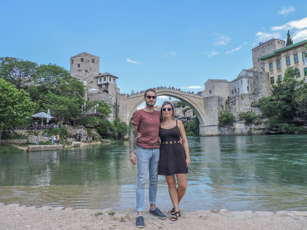 Stari Most, Mostar Bosnia I How Much Does Backing Europe Cost I Month 15