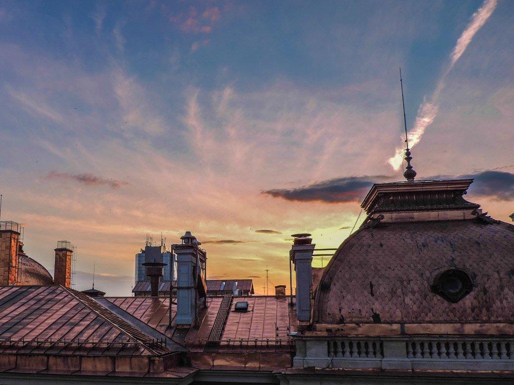 Sunset Pura Vida Sky Bar I Bucharest Romania I Photo the Fortnight 29 I Eastern Europe