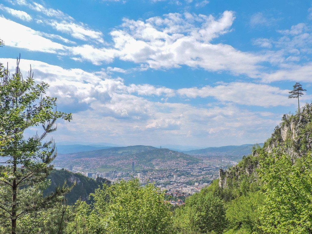 Views of Sarajevo Bosnia from Mount Trebevic I Sarajevo Where To Stay and What To Do