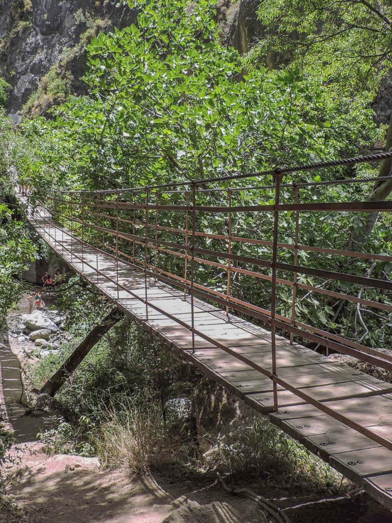 Hanging Bridges of Los Cahorros Granada