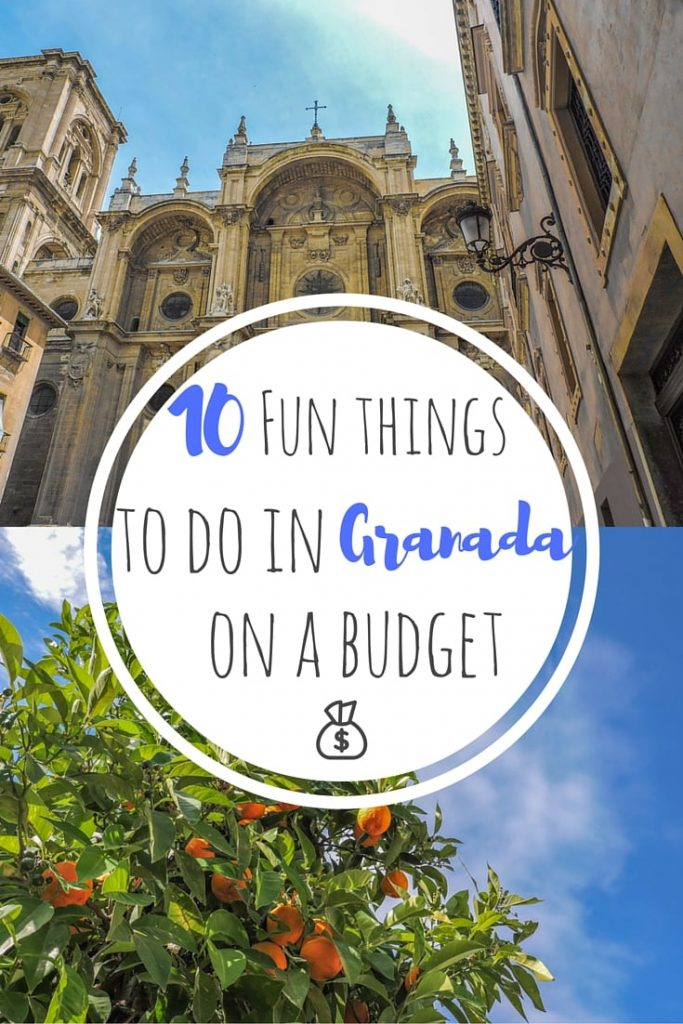 Things to do in Granada on a budget - the hot Spanish city close to the Sierra Nevada mountain range. Hikes, Tinto De Verano, and Sacromonte.