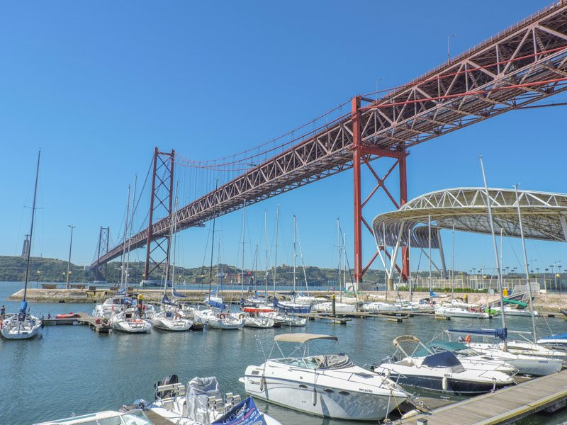 25 de Abril Bridge Lisbon I 15 Things to in Lisbon for Under €15