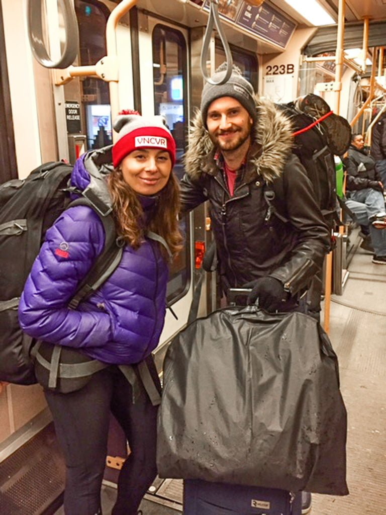 Backpacking I Winter Gear I Female Travel Packing List