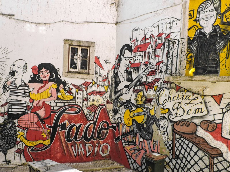 Fado Street Art Lisbon I 15 Things to in Lisbon for Under €15