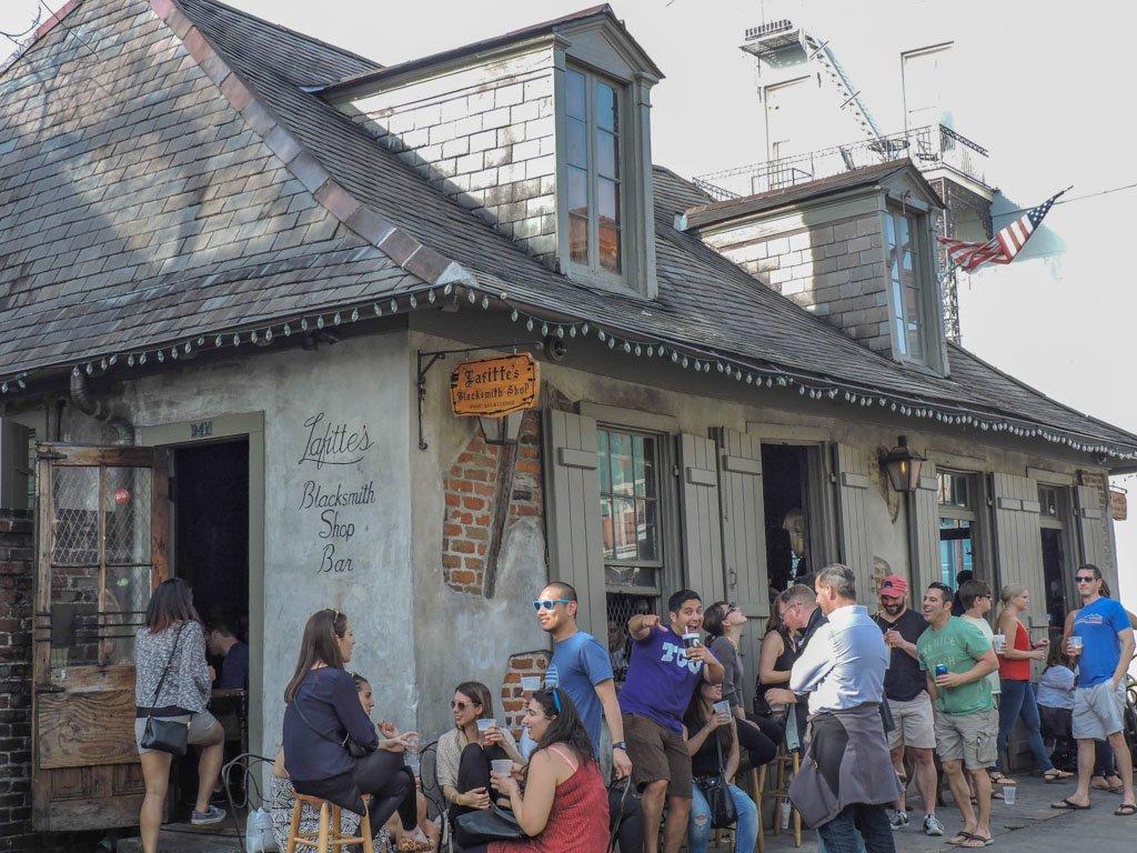 Lafette's Blacksmith Shop Bar I Long Term Travel Planning