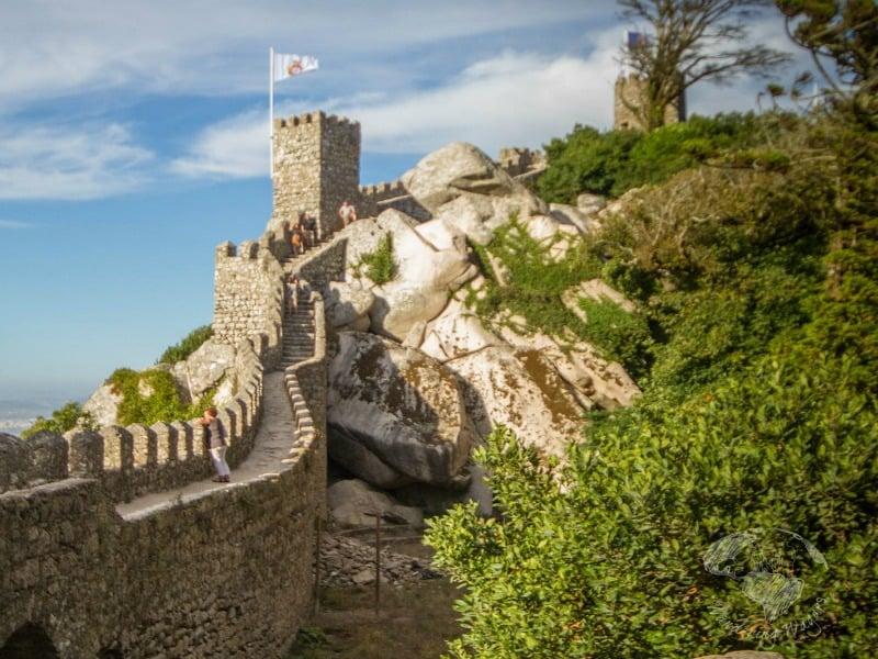 Moorish Castle I Best Lisbon Day Trips