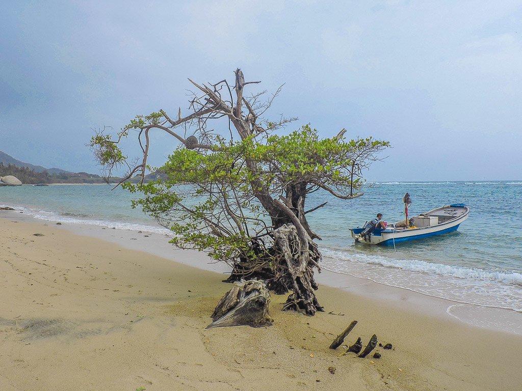 Piscina Beach Tayrona National Park Colombia I Long Term Travel Planning