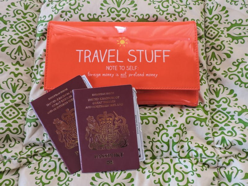 Passports and Currency I Long Term Travel Planning