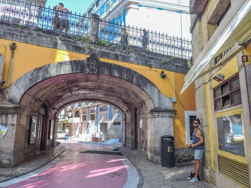 Pink Street Lisbon I 15 Things to in Lisbon for Under €15