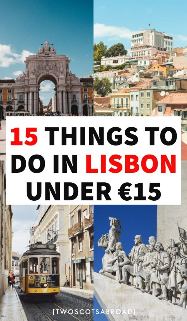 How to visit Lisbon on a budget | how to save money in Lisbon | Lisbon travel tips | budget travel in Lisbon | how much to spend in Lisbon | cheap travel in Lisbon | best things to do in Lisbon for free | free things to do in Lisbon