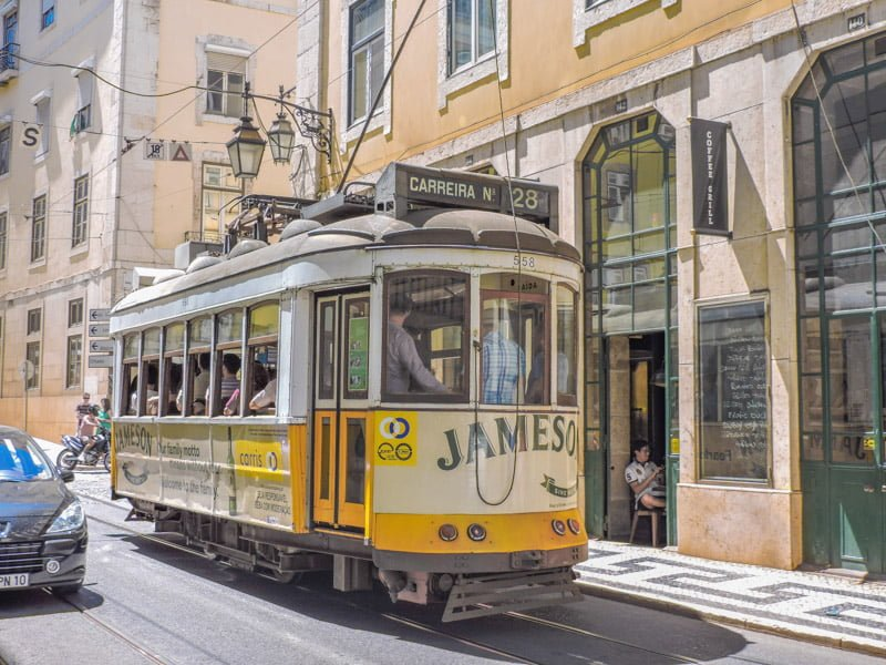 Tram 28 Things to in Lisbon