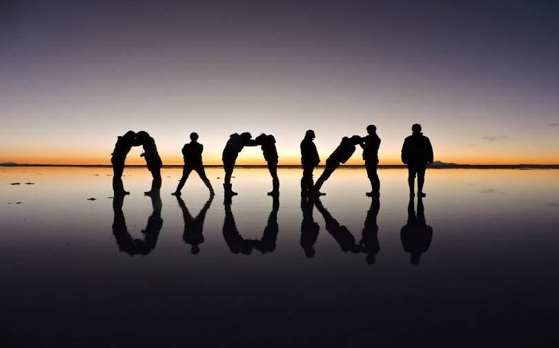Uyuni Sunset Salt Flats I Long Term Travel Planning