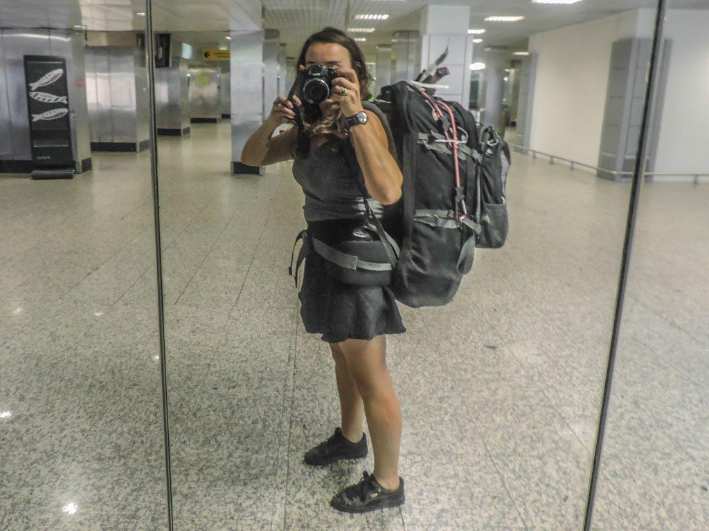 Vango 80 Litre Rucksack I Female Travel Packing List