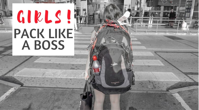 Female Travel Packing List: Bras, Backpacks & Big No-Nos