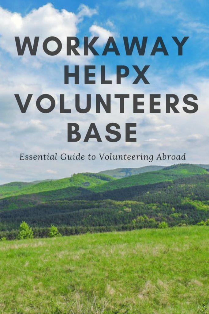 Travel and Work: Workaway Countries | Workaway, Help X and Volunteers Base