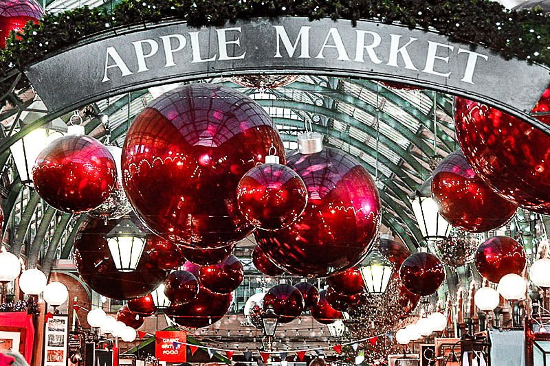 Apple Market, London | Best Christmas Europe Breaks