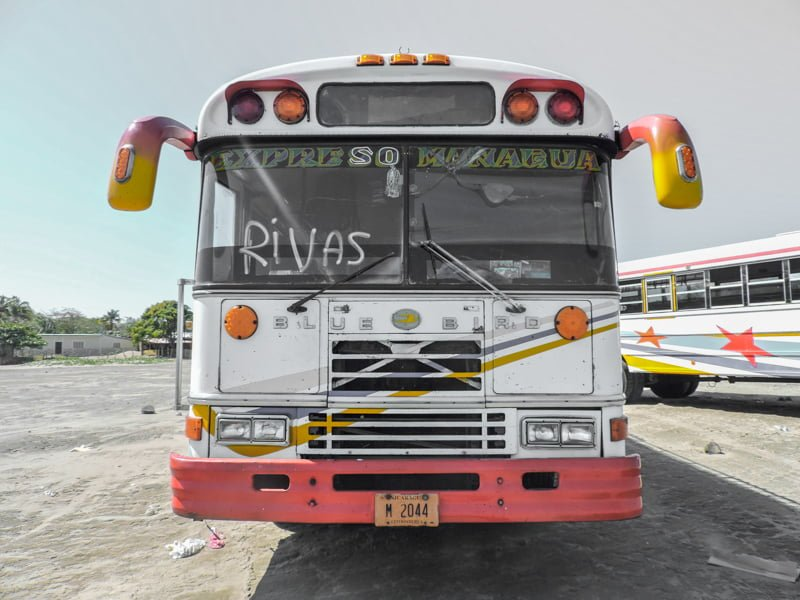 Chicken Buses | Backpacking in Nicaragua