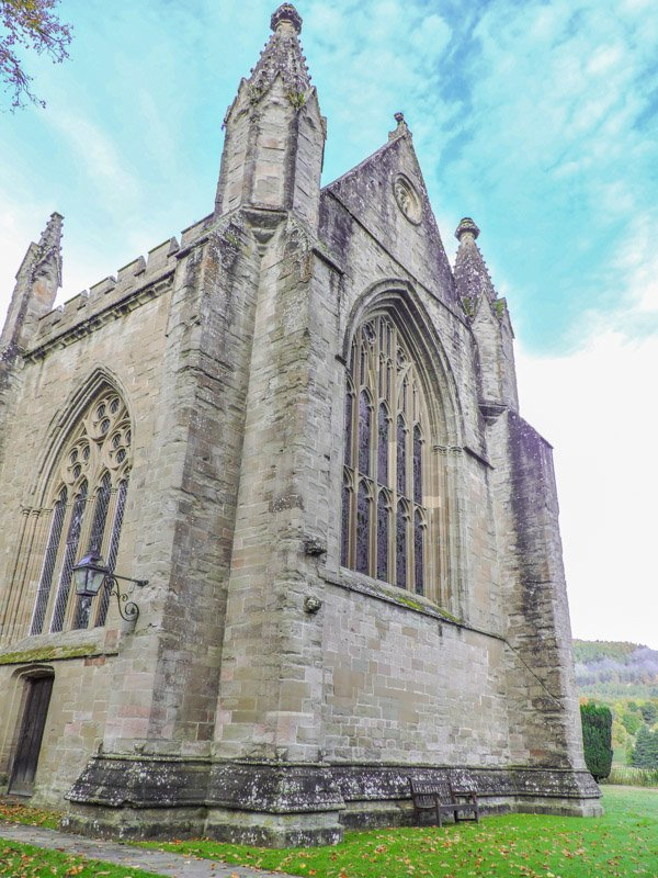 Dunkeld Cathedral | Haggis Adventures Skye High 3 Day Review