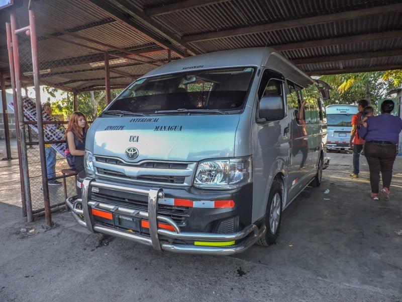 Microbus | Backpacking in Nicaragua