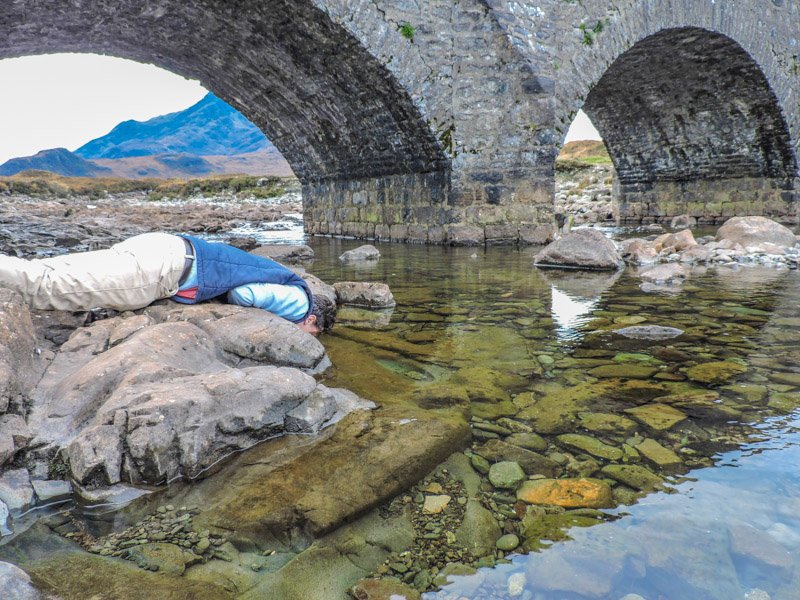 Sligachan River | Haggis Adventures 3 Day Skye High Tour Review