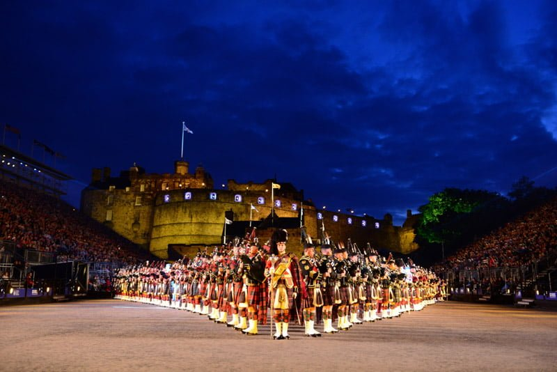 Edinburgh Tattoo Military Tattoo