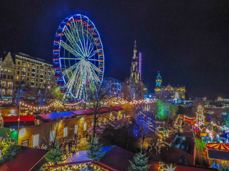 Edinburgh's Christmas Market | Things to do in Edinburgh Scotland destinations
