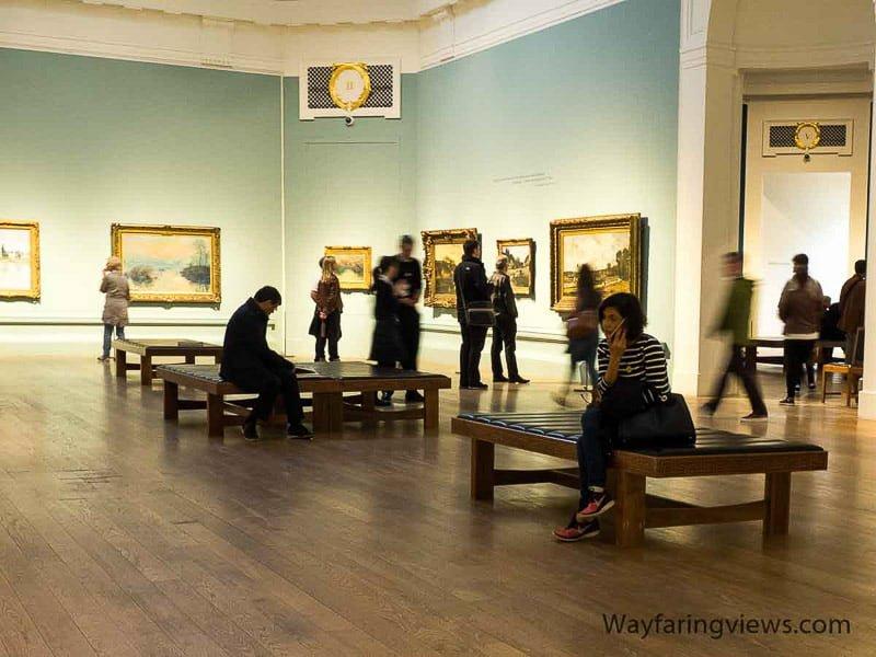 Scottish National Gallery credit Wayfaring Views | Things to do, see, eat in Edinburgh