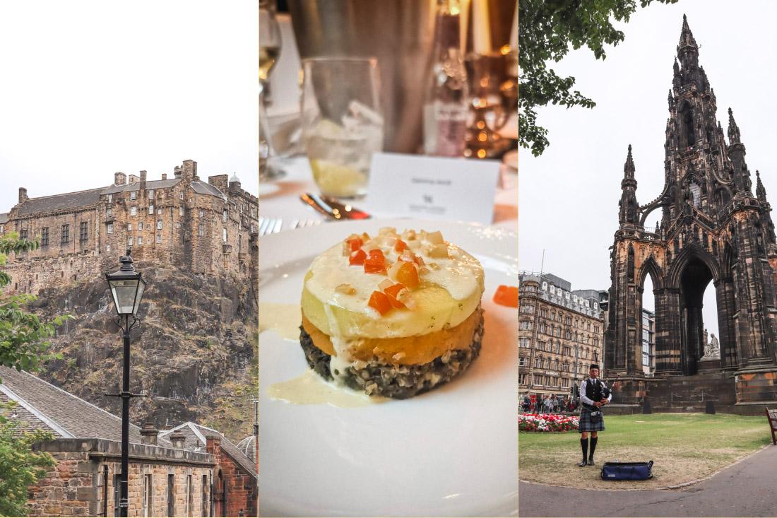 Things to do in Edinburgh Castle, Haggis, Scott Monument, Piper