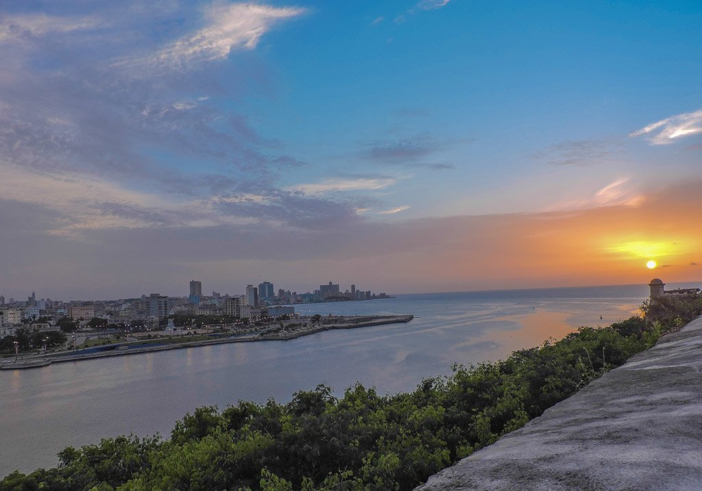 Sunset at Havana La Cabana | 10 things to do in Havana