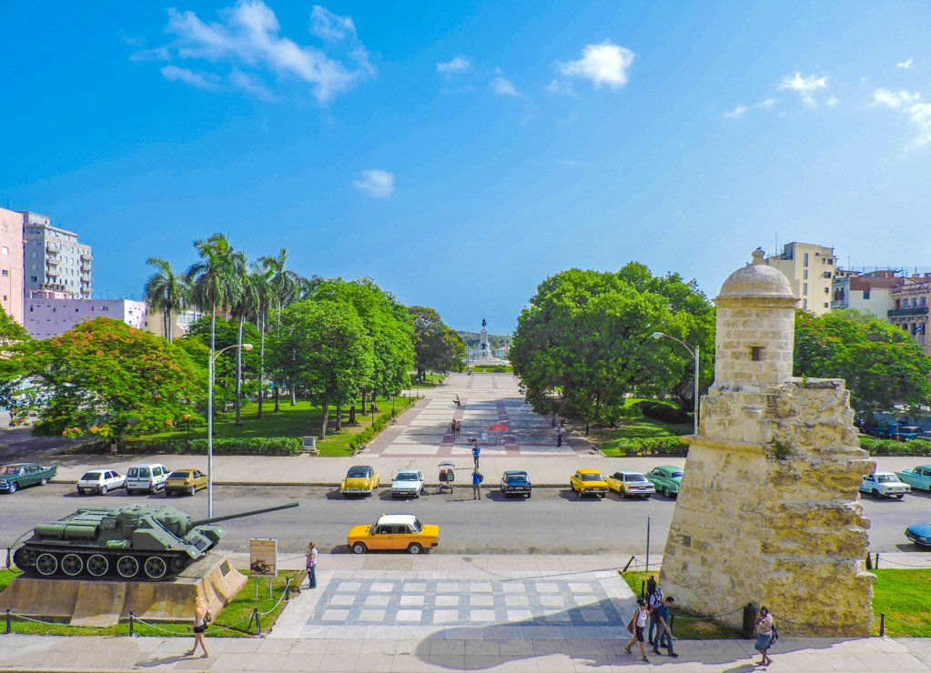 Views from Revolution Museum | 10 things to do in Havana