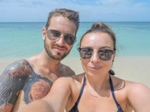 Gemma and Craig Cuba Playa Ancon Two Scots Abroad