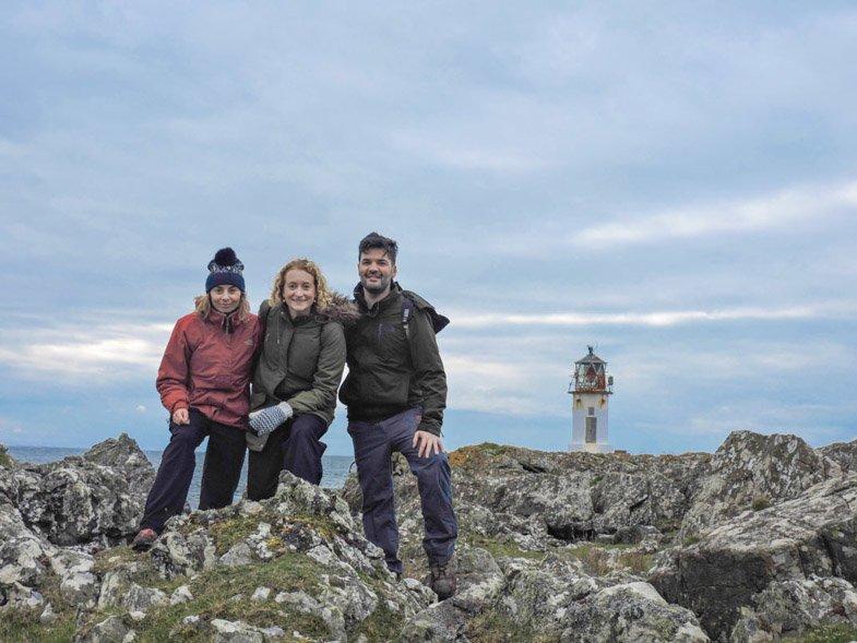 Rubhan Eun Lighthouse Isle of Bute West Island Way-9