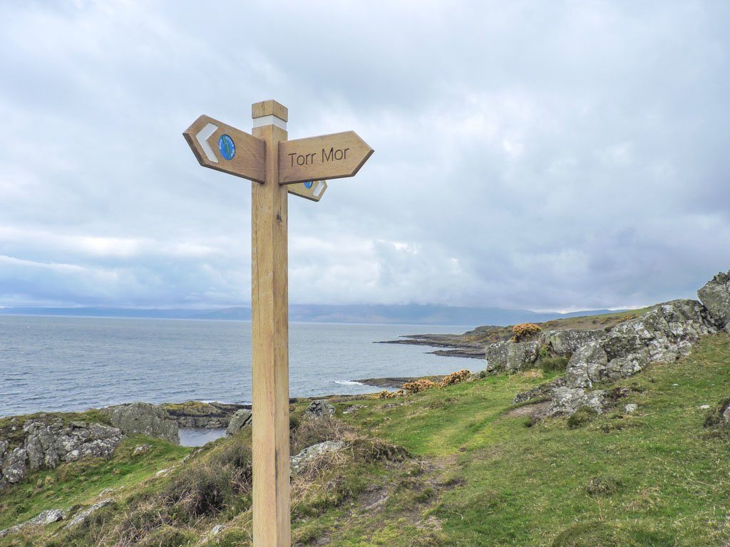 Signposts West Island Way | Isle of Bute