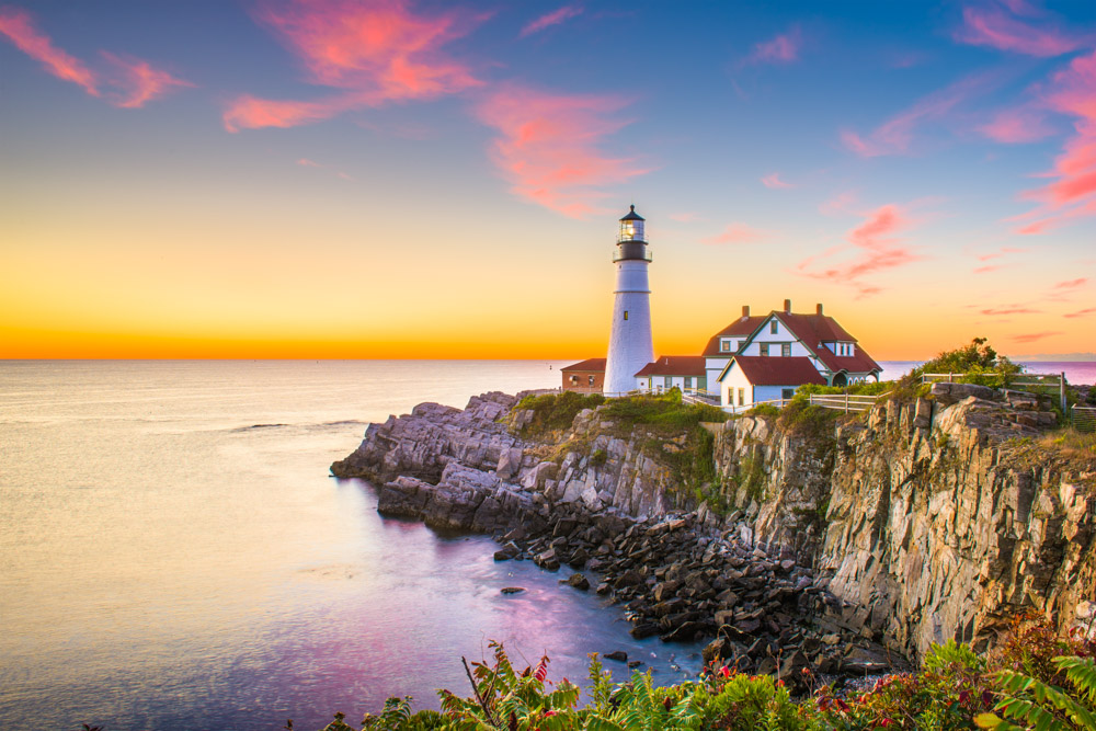 Portland Head Light Maine New England_