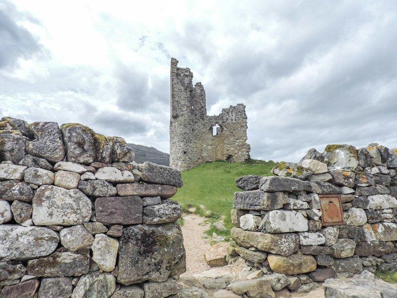 Ardvrek Castle NC 500 Route 500