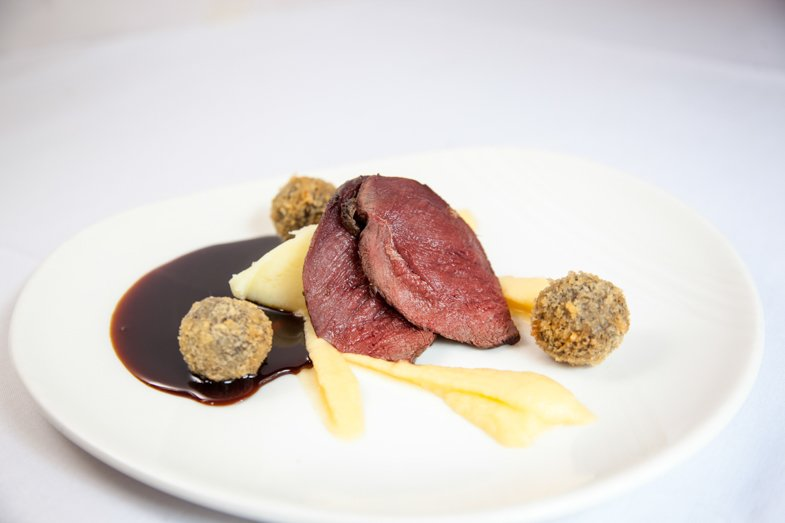 Wedgwood Fine Dining Edinburgh - Pigeon, Haggis, Neaps and Tatties