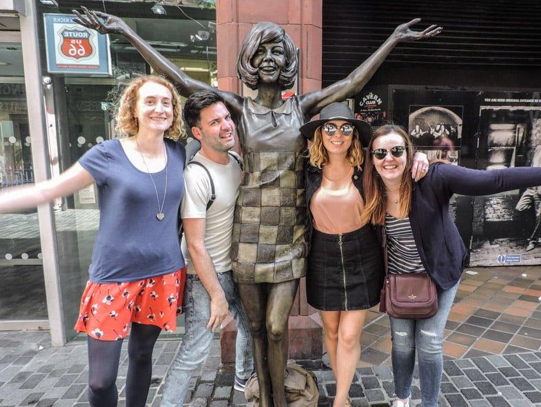 Cilla Black Liverpool Statues